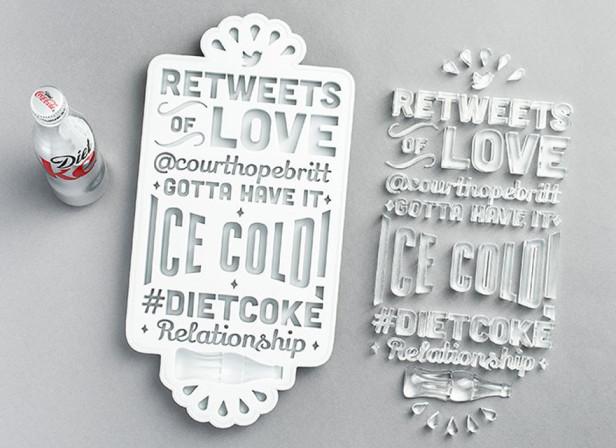 """Ben Johnston """"ReTweets of Love"""" / Diet Coke"""