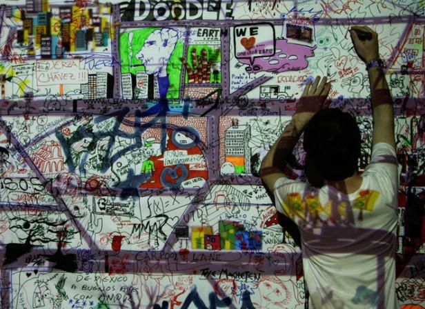 Serge Seidlitz's Doodlearth @ Onedotzero Adventures In Motion