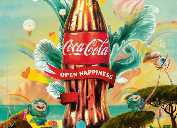Coke Yeah Yeah Yeah La La La Beach 6