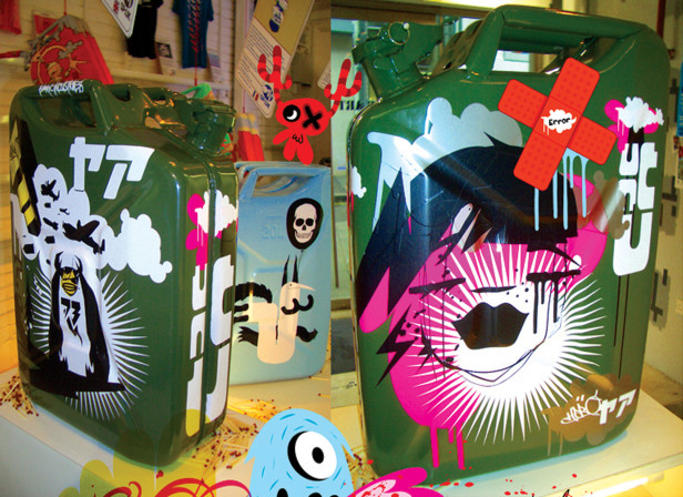 Spunky Clothing Exhibition Jerry Can Graphics
