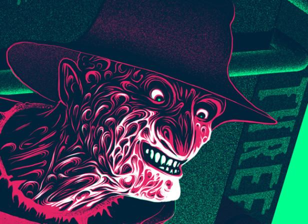 Nightmare On Elm Street / Super Evil Posters