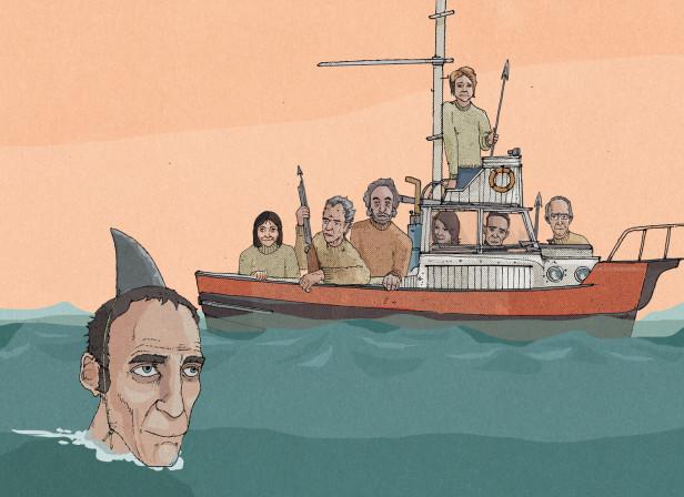 Will Self Will Need A Bigger Boat / The Telegraph