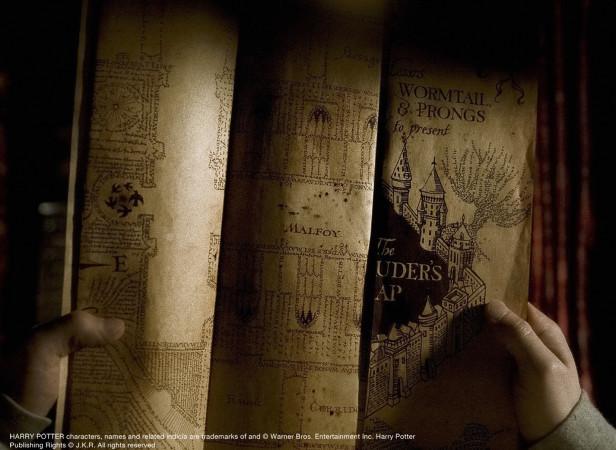 Harry Potter Props Marauders Map