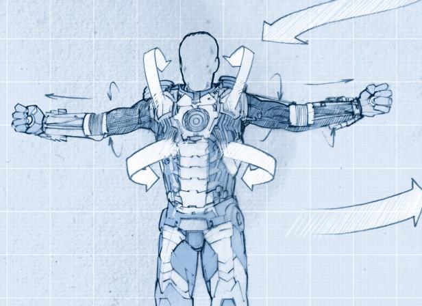 Iron Man Suitcase Suit
