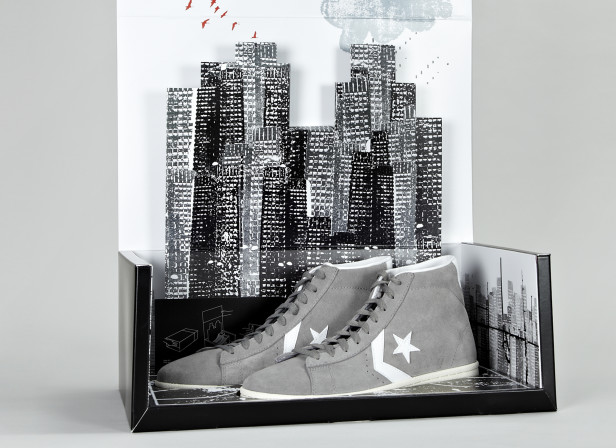 The CONS Pro Leather Converse Shoebox