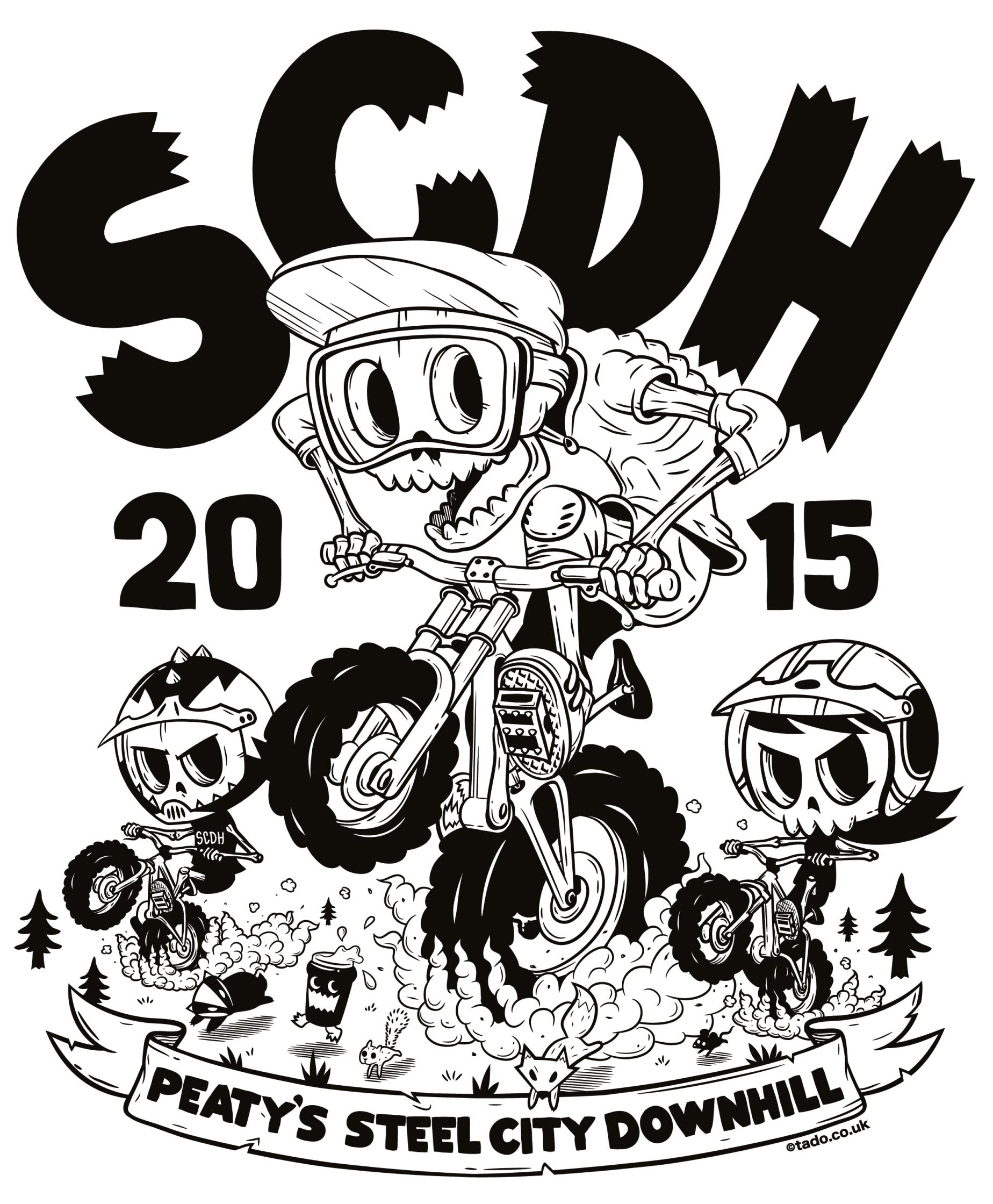 Peaty's Steel City Downhill 2015