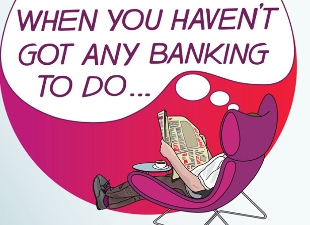 A Bank You Can Go To When You Haven't Got ANy Banking To Do / Virgin Money