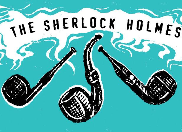 Pub Sign - The Sherlock Holmes