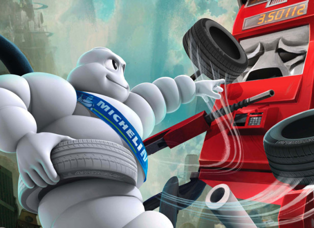 Michelin - Evil Gas Pump