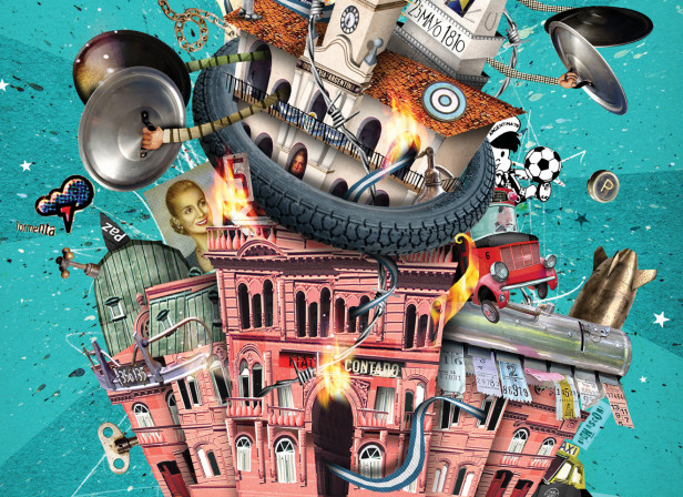 Plaza de Mayo Magazine Cover