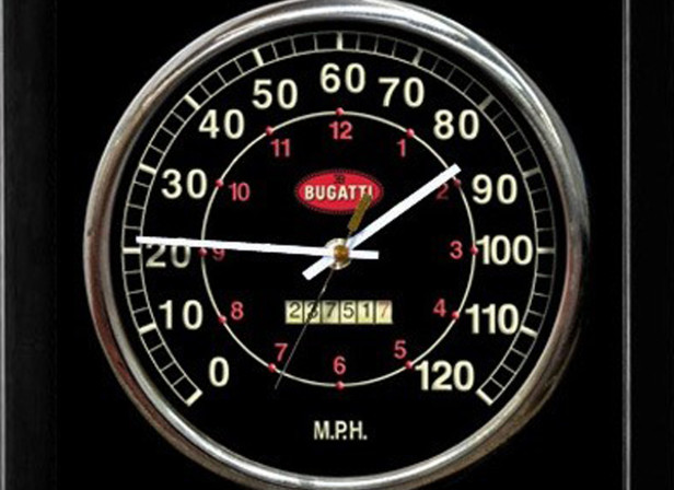 Bugatti Clock