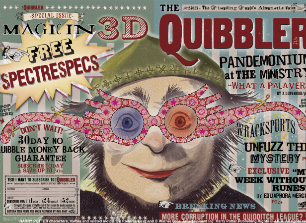 Harry Potter The Quibbler Poster