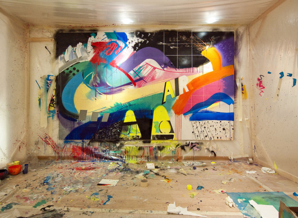 Nike x Size? Dover Street Painting