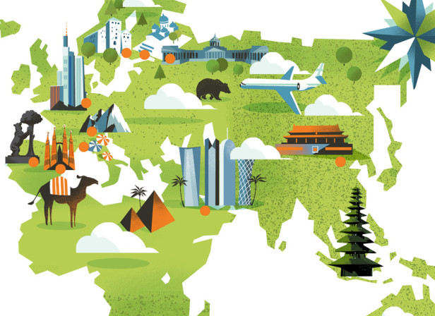 World Map / Focus