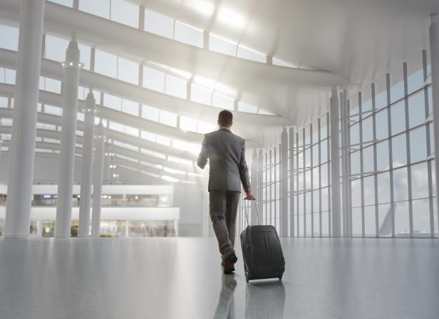 Poster Heathrow Terminal Five Interior