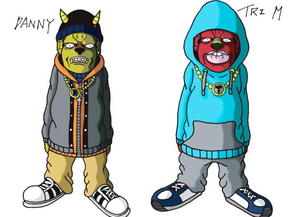 Roll Deep Characters