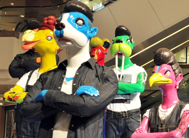 LEE Mannequins Hong Kong