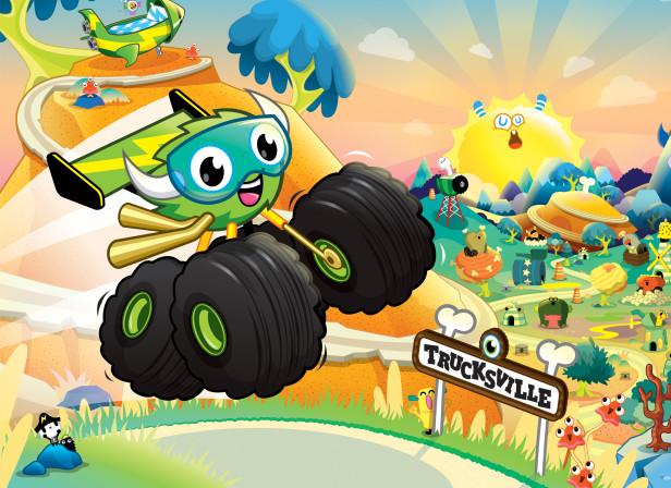 Scholastic Monster Trucks The Big Race 1