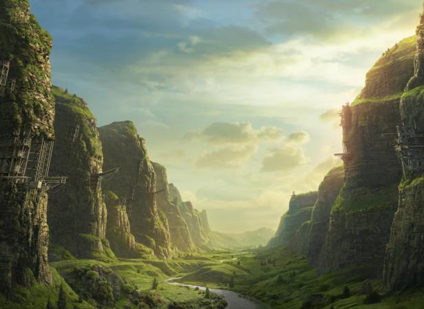 Coke Background Valley