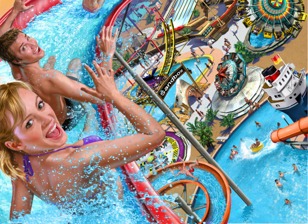 Roller Coaster Tycoon Soaked Videogame