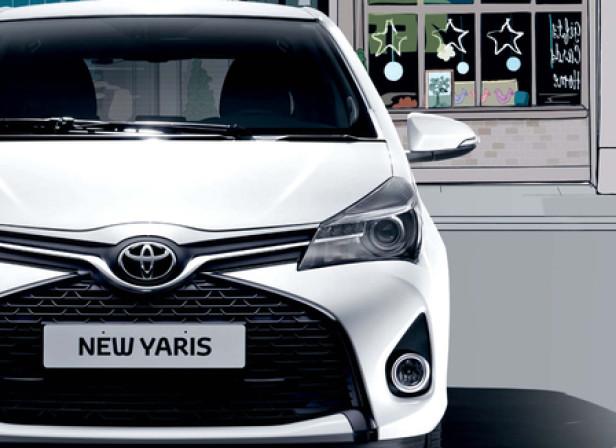 City Car Pullout / Toyota Yaris