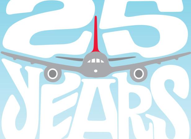 Virgin Atlantic 25 Years
