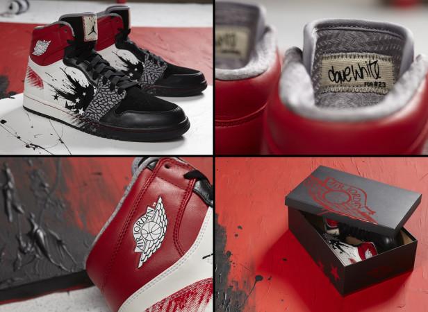 Air Jordan 1 High Dave White Jordan Brand Collaboration