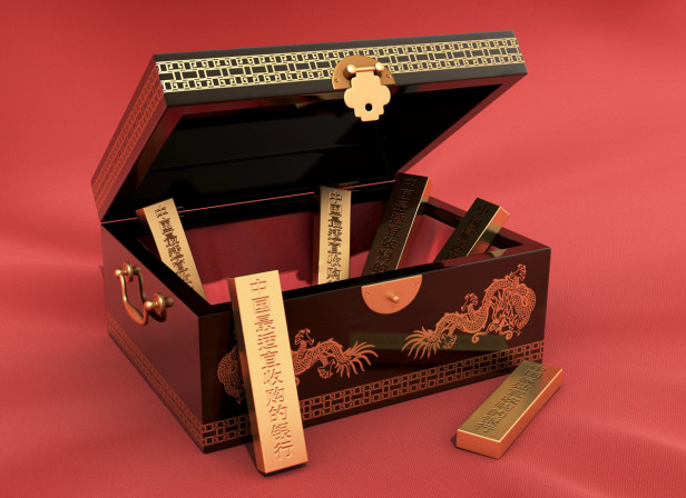 Chinese Gold Bars