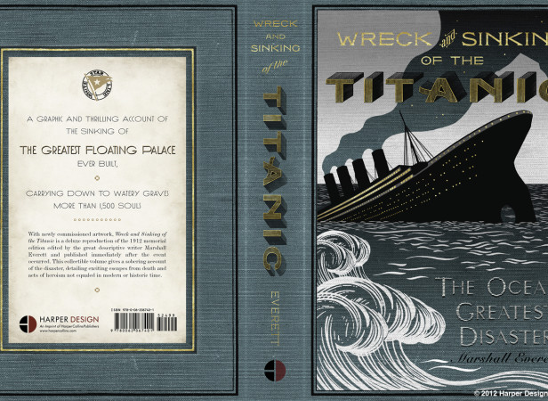 Wreck & Sinking Of The Titanic Book Cover