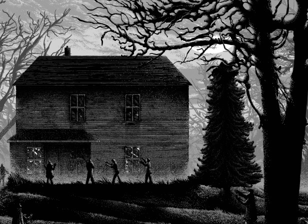 Night of the living dead screen print.jpg