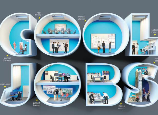 Cool Jobs / Atlanta Magazine Cover