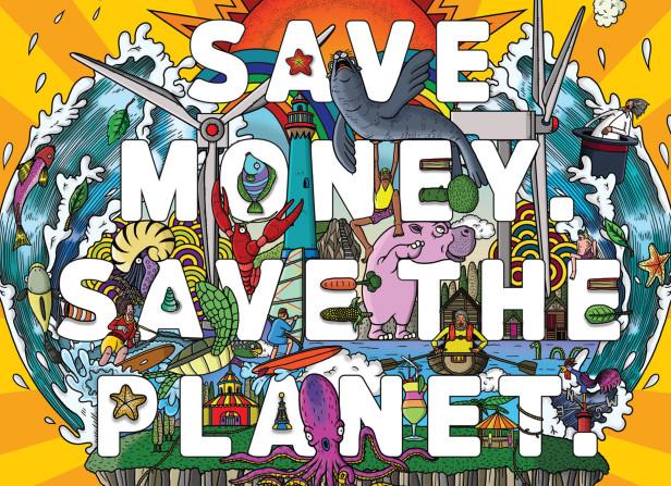 Save Money. Save The Planet / Good Energy