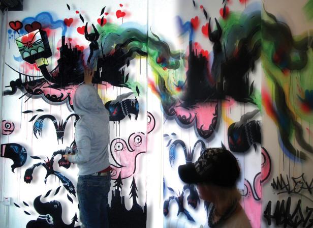 Mack Daddys Mural Co Lab Will Barras