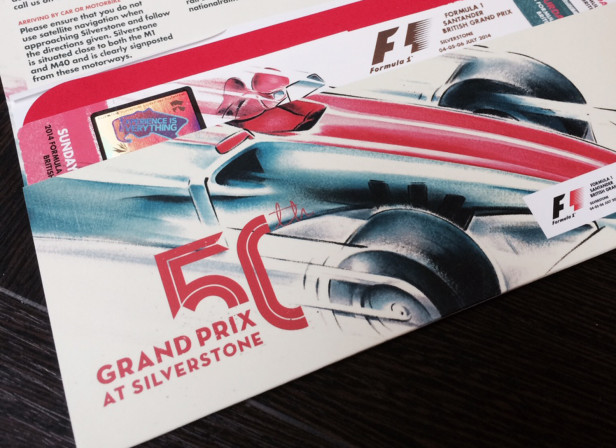 Tickets / F1 Grand Prix At Silverstone