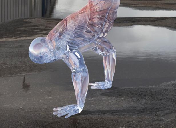 Glass Workout / Men's Health Magazine