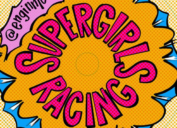 Supergirls Racing Adidas Women's Bike Polo