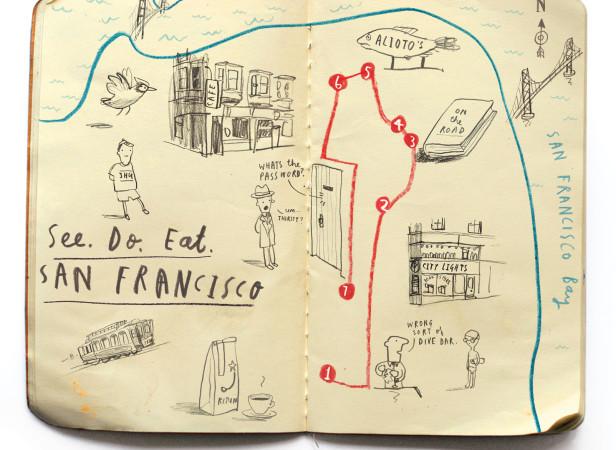 See. Do. Eat. San Francisco