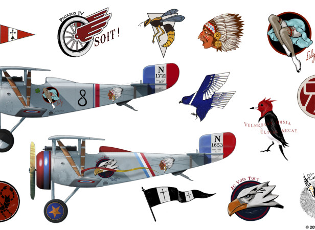 Flyboys Airplane Insignia