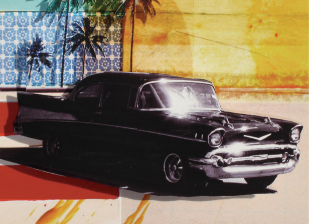 Orlando Florida The Sunshine State Classic Chevy Bel Air 1956