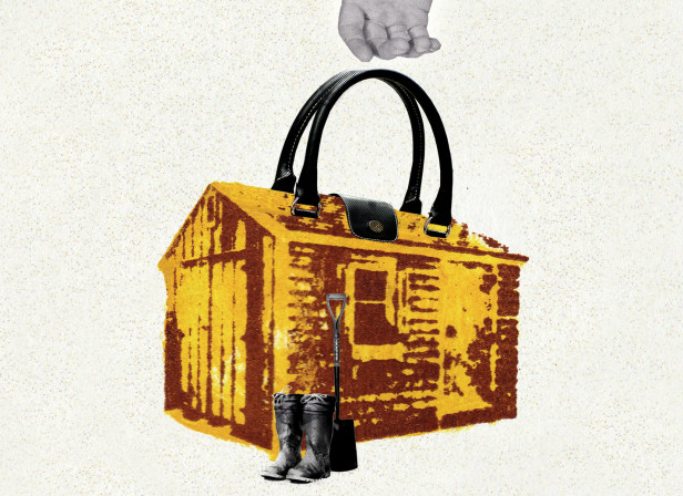 A Shed is to a Man What a Handbag is to a Woman