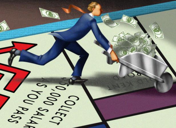 Money Mag/50K Challenge Monopoly