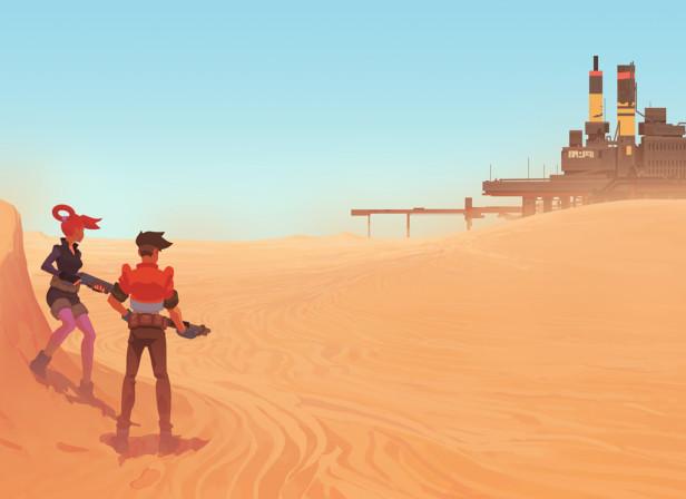 Evil Boss Desert Hideout