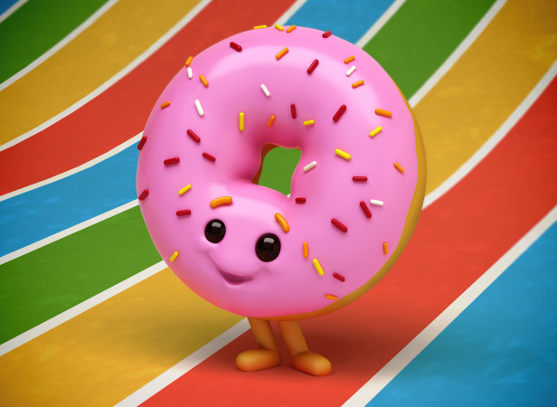 Ringo Donut Doughnut