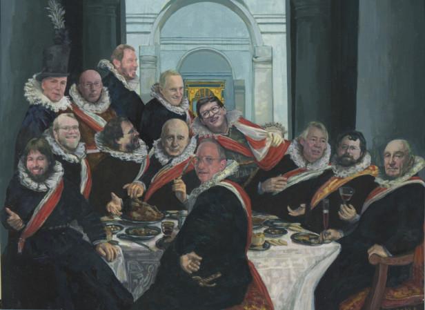 Dinner Party Bill Gates
