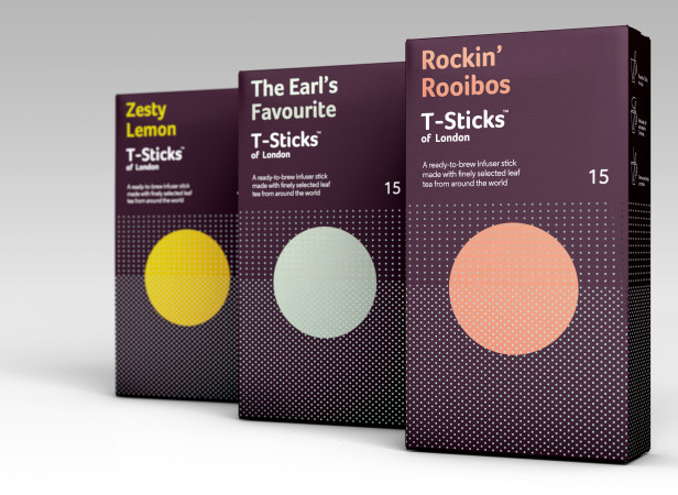 T-Sticks of London Brand + Packaging