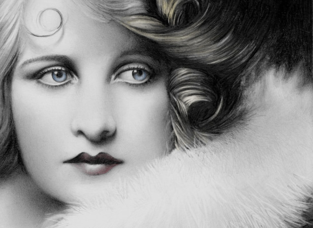 Portrait Of Lady With Furs
