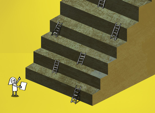 Climbing To The Top In Business