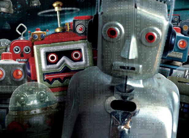 Robots Attak Baseline Magazine