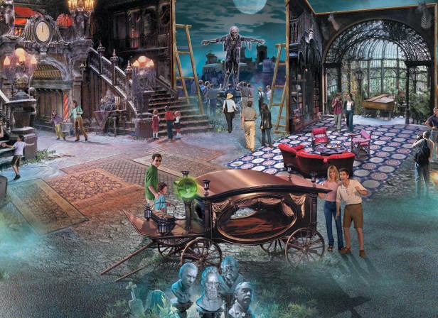 Disney Haunted Mansion Film Promotion