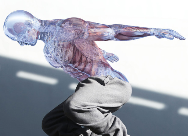 Glass Workout 2 / Men's Health Magazine